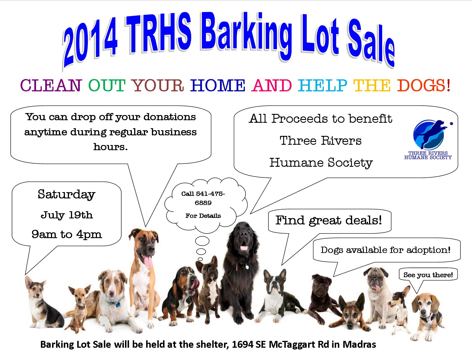 Barking Lot Sale